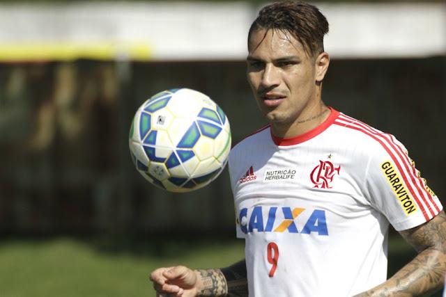 Para Guerrero, é importante que o Flamengo abra vantagem no jogo de ida (Foto: Gilvan de Souza/CRF)
