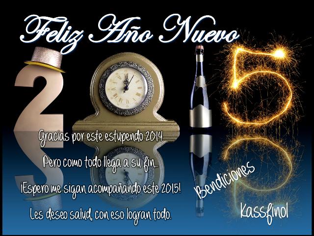 feliz 2015 de Kassfinol