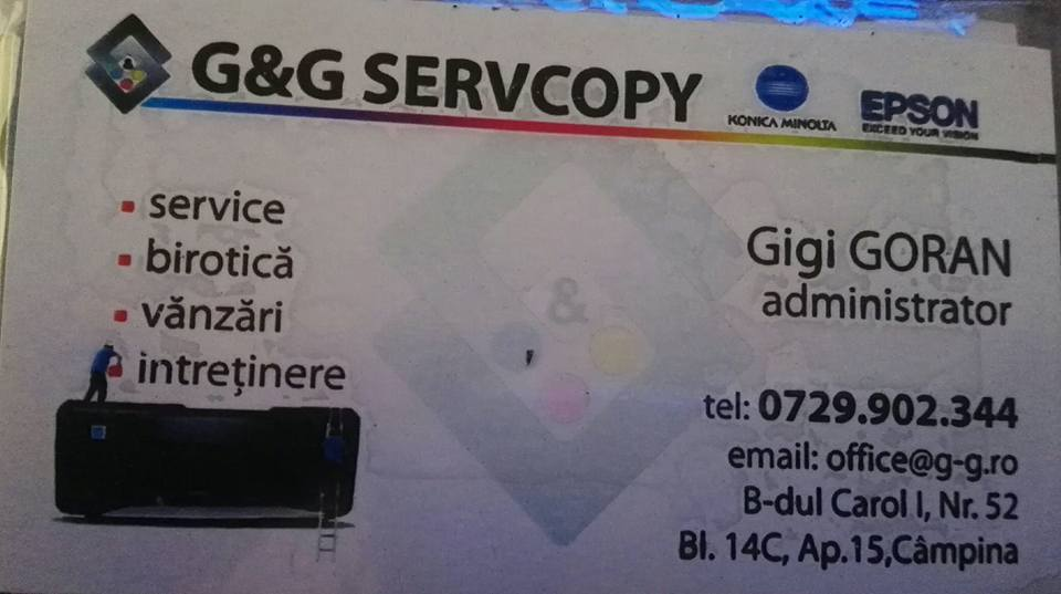 24. S.C.G&G SERVCOPY S.R.L CAMPINA