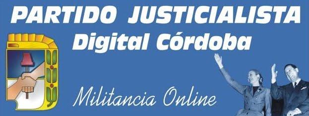 PARTIDO JUSTICIALISTA DIGITAL CÓRDOBA