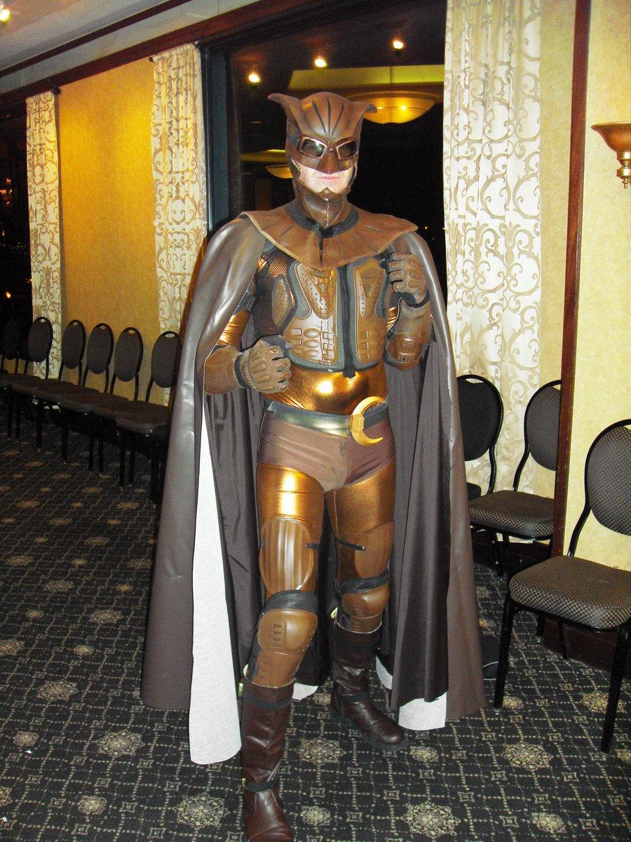 Watchmen cosplay: Nite Owl y Silk Spectre ~ Probes
