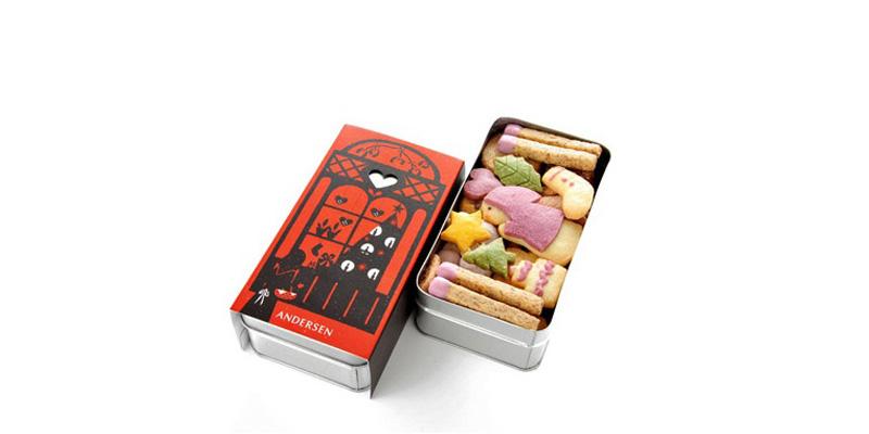 cuentos populares hechos con galletas de Andersen