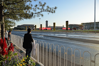 Tian'anmen Square from near the National Museum at National Day 2012