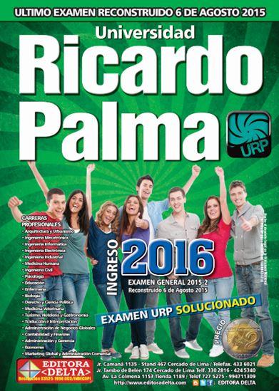 Examen General 2015 Ricardo Palma