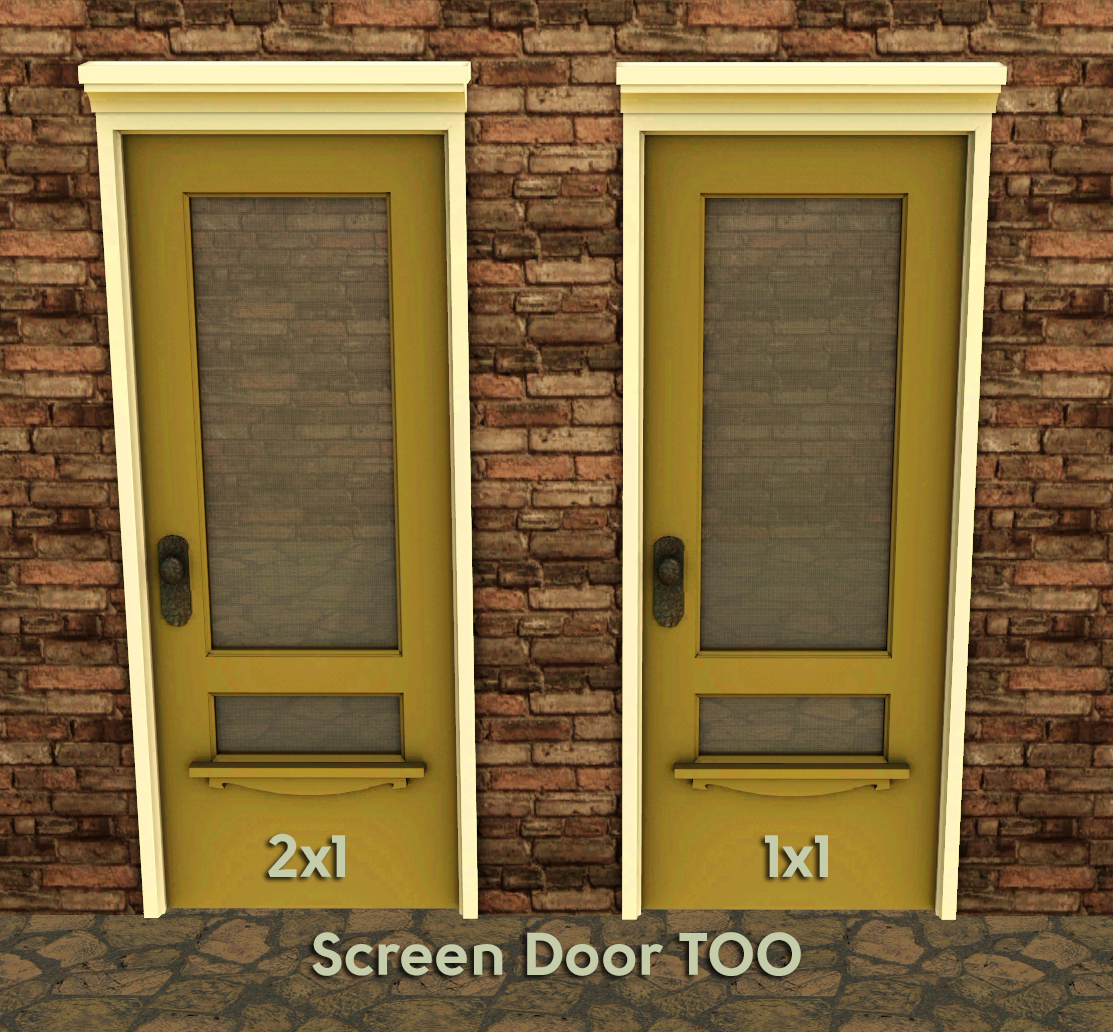 B5studio craftsman chic trois for Screen for door that opens out