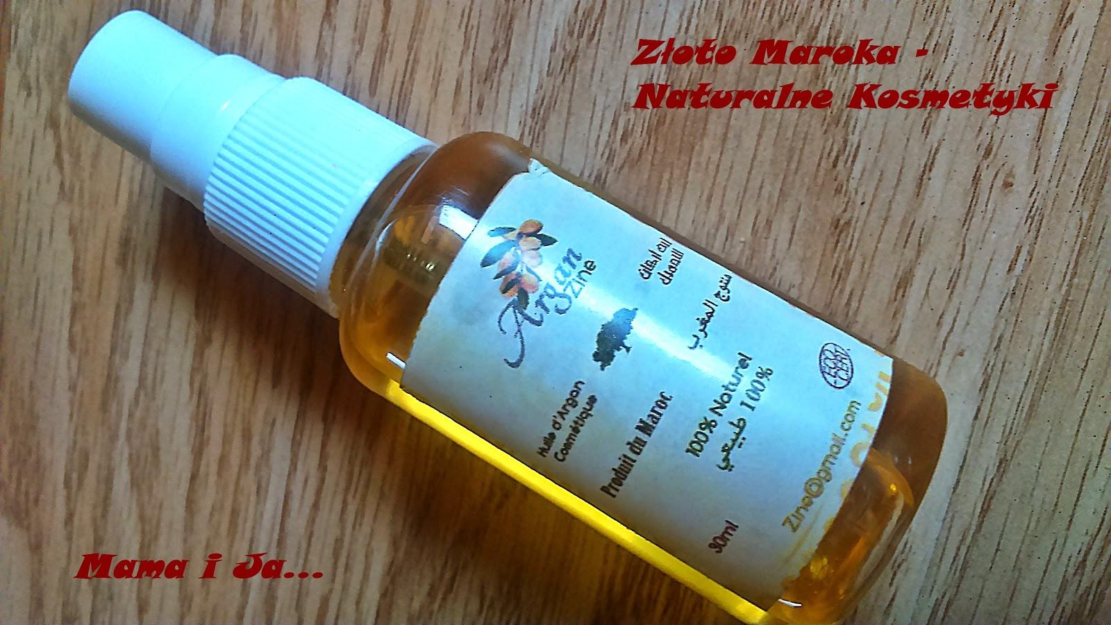 Olejek Arganowy od Złoto Maroko - naturalne kosmetyki
