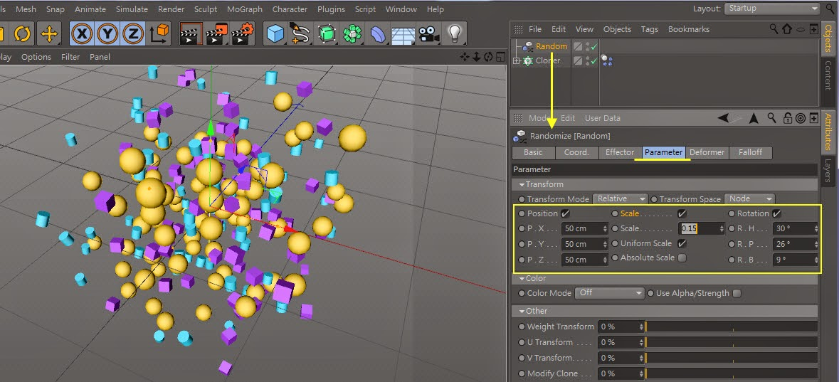 The_Cluster_Effect in C4D 12