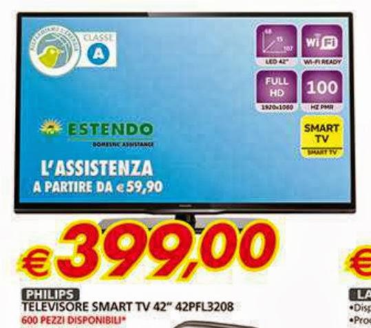 Miglior prezzo smart tv philips 42 pollici in promozione for Tv 75 pollici prezzo