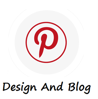 design and blog pinterest logo