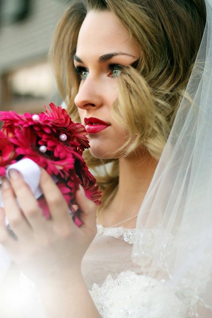 piękny makijaż ślubny 2015