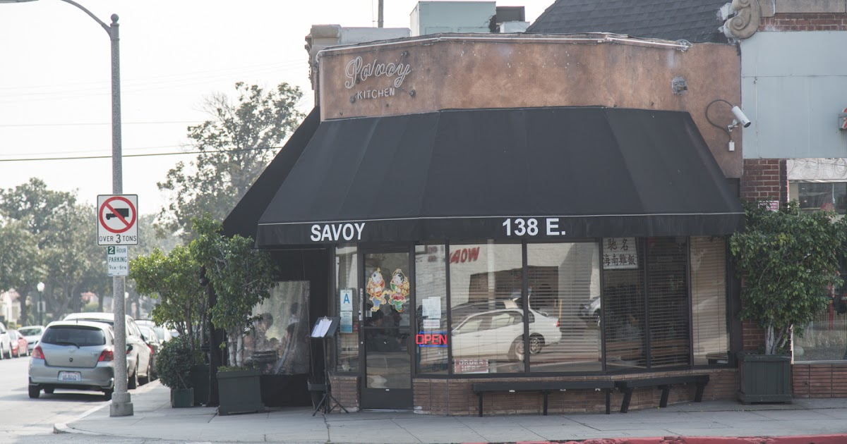 Food is Happiness: Savoy Kitchen