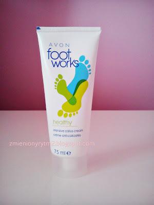 Krem intensywnie zmiękczający skórę stóp - AVON Foot Works