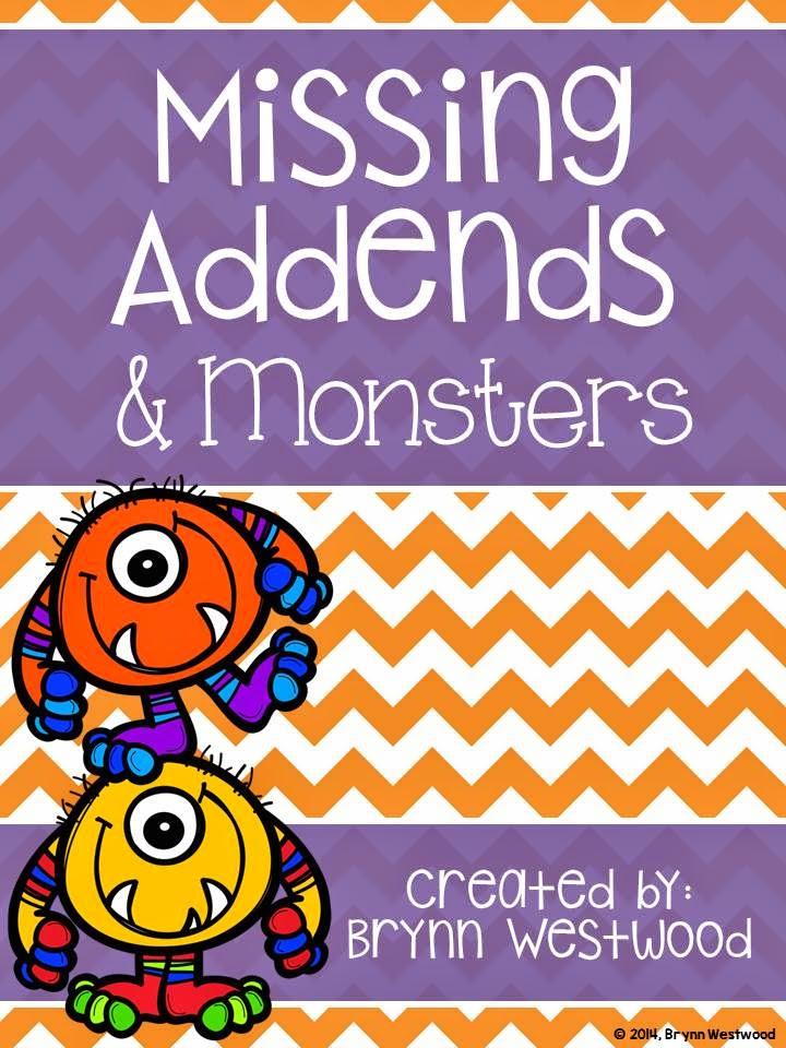 http://www.teacherspayteachers.com/Product/Missing-Addends-Monsters-Bingo-1622472
