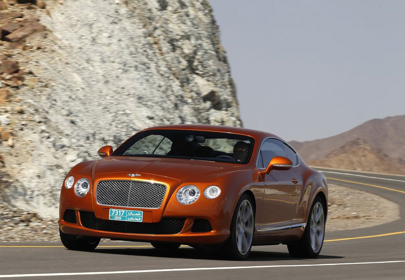 Bentley continental gt for Bentley motors limited dream cars