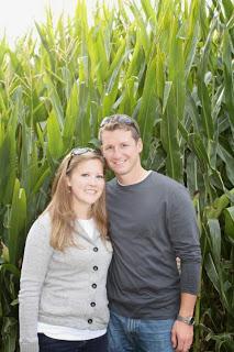 Andy and I in a corn maze in Georgia