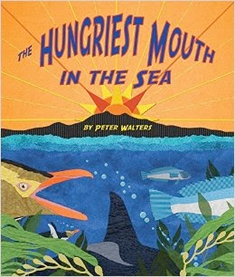 bookcover of THE HUNGRIEST MOUTH IN THE SEA by Peter Walters