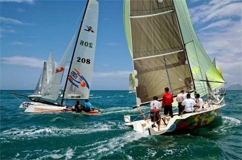 Nautisme Martinique - Le combat de coques