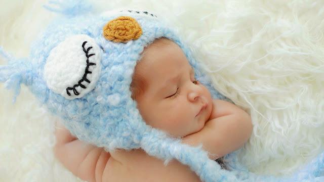 1010-Cute Little Baby Sleeping HD Wallpaperz