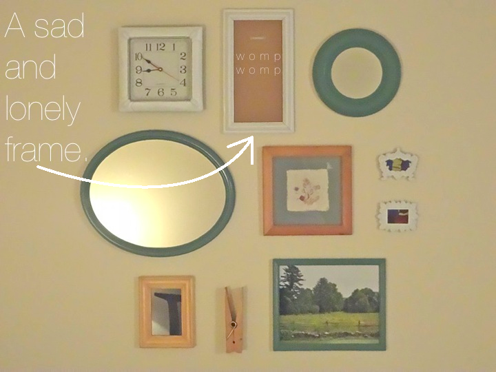 Multi Frame Wall Art aka bailey: homemade art: collage for the bedroom
