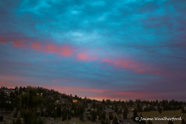 Jaime Weatherford Awbrey Butte Sunset Bend Oregon