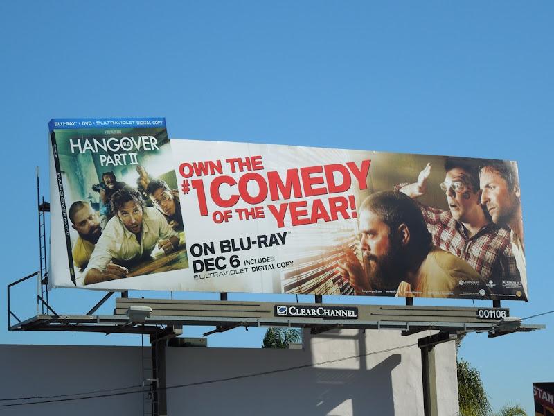 Hangover 2 Bluray billboard