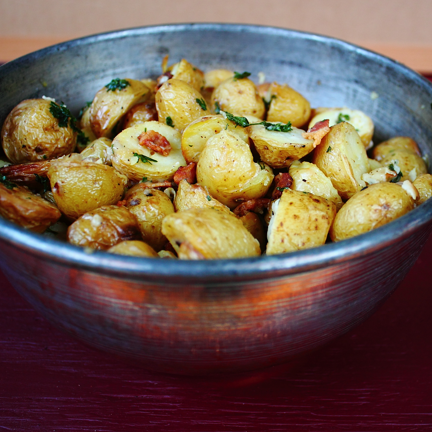 ... the Cody Kitchen: Roasted Potatoes with Parsley, Parmesan and Bacon