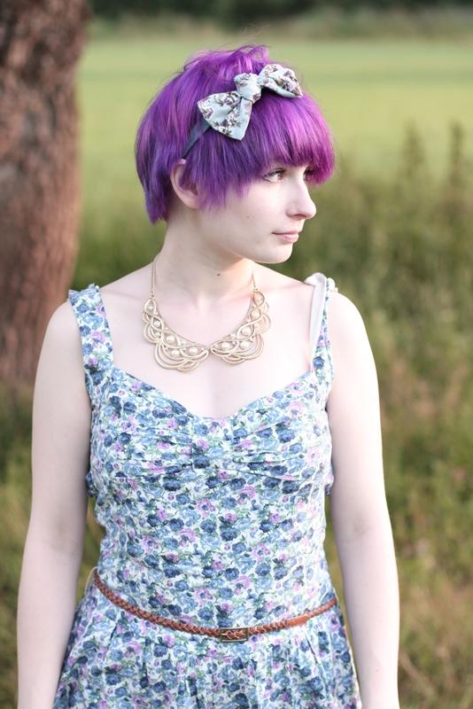 boohoo floral playsuit