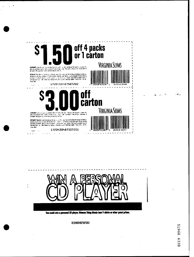 photo regarding Printable Cigarette Coupons identify Printable Cigarette Discount codes 2019: Cost-free Virginia Slims