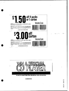 Free printable Virginia slims coupons
