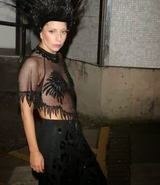 Another Wowing Lady Gaga Outfit...And its Not Her Birthday Suit!