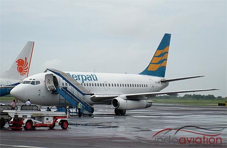 Merpati 737-200 PK-MBC