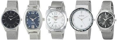Pulsar PTA501X Stainless Steel Watch $39.99 (regular $59.99) similar in white  Peugeot 712BL Silver Mesh Bracelet Moon Phase Watch $31.99 (regular $72.00)  TOK Orlogi TK586S Milano Silver Tone Watch $85.80 (regular $135.00)  Skagen SKW2004 Leonra Stainless Steel Silver Watch $97.50 (regular $135.00)  Christian Van Sant CV2412 Quartz Silver Watch $138.15 (regular $295.00) hurry - almost sold out!