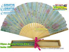 Kipas Jepang Kotak Mika
