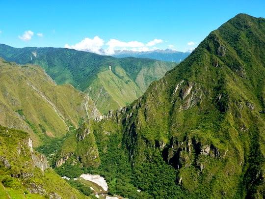 Inca Trail to Machu Picchu landscape
