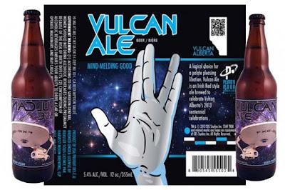 Vulcan Ale - A cerveja de Star Trek