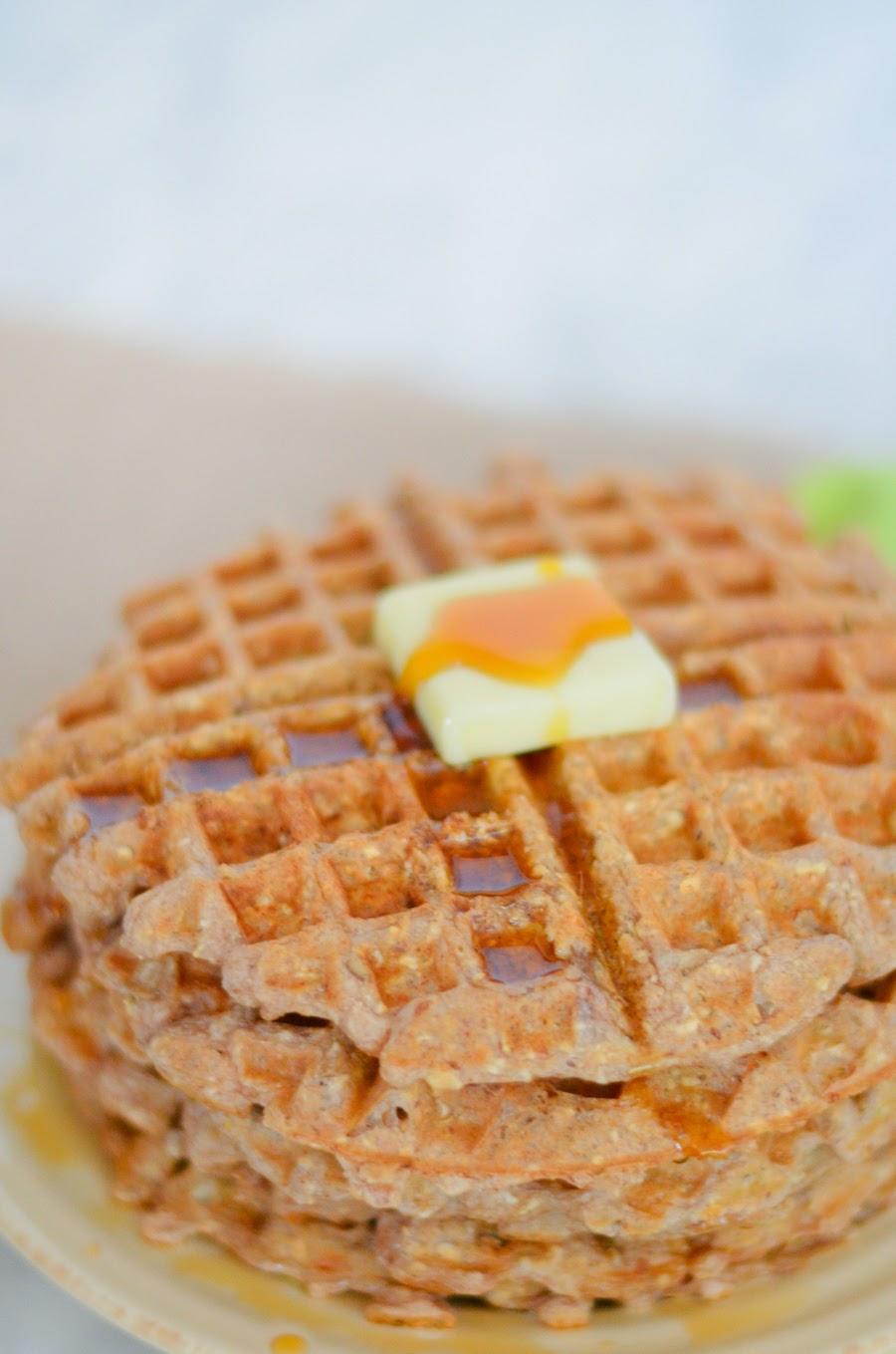 Gluten Free Multigrain Waffles w. Oat Flour   Luci's Morsels :: LA ...