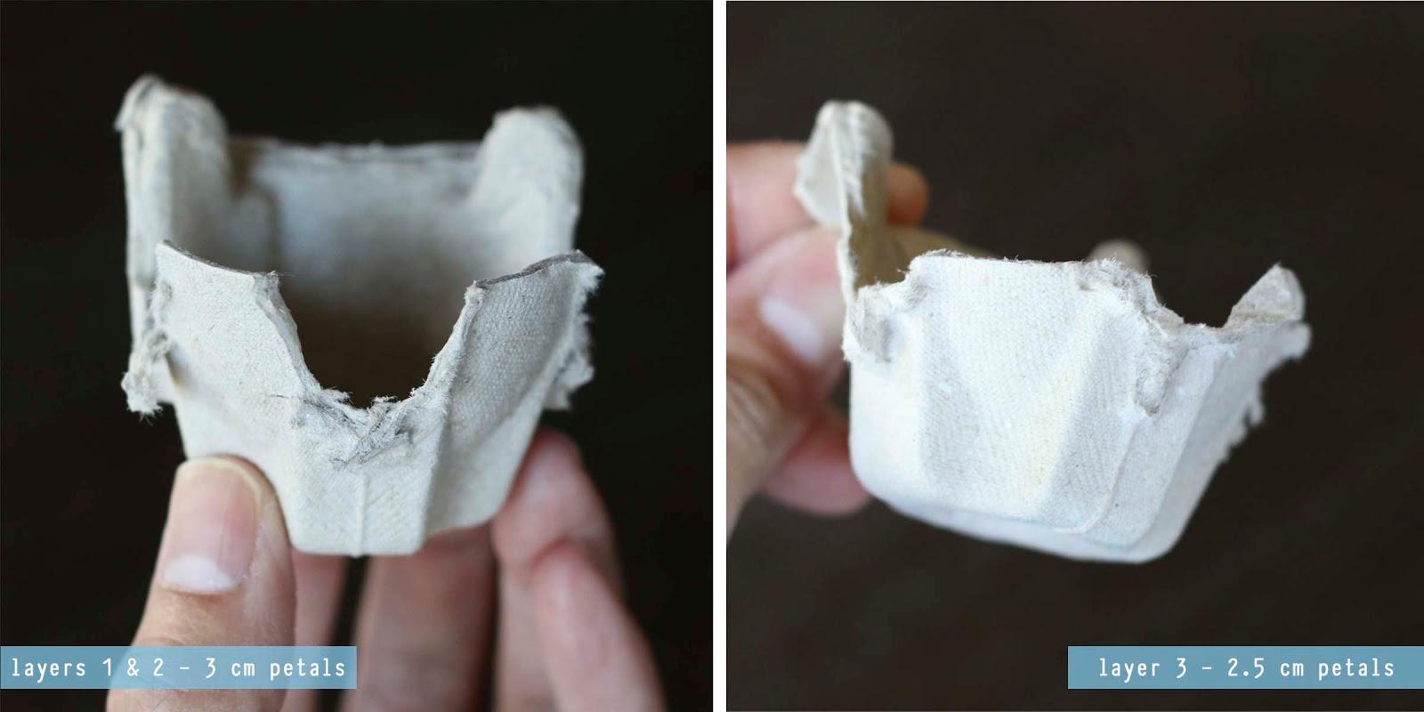 Как сделать рамку из лотков для яиц