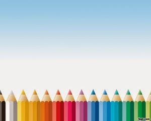 5 Background Dan Template Powerpoint Tema Pensil Terbaik