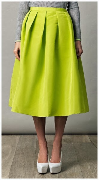 Trend To Try: River Island Chioes Asos Midi Scuba Skirt ...