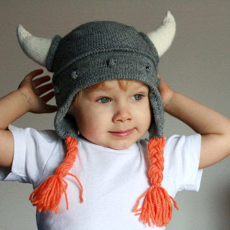 Vistoso Patrón De Crochet Sombrero De Vikingo Foto - Manta de Tejer ...
