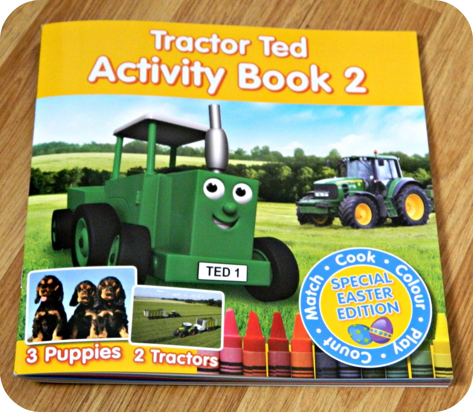 Tractor Ted Activity Book 2 Easter