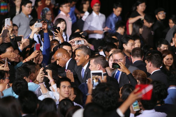 President Barack Obama at University of Malaya (UM)