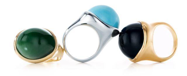Модные кольца от Тифани