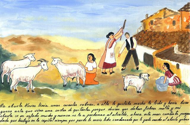 exvoto, ovejas fiebres maltas