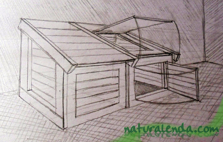 boceto de un compostador