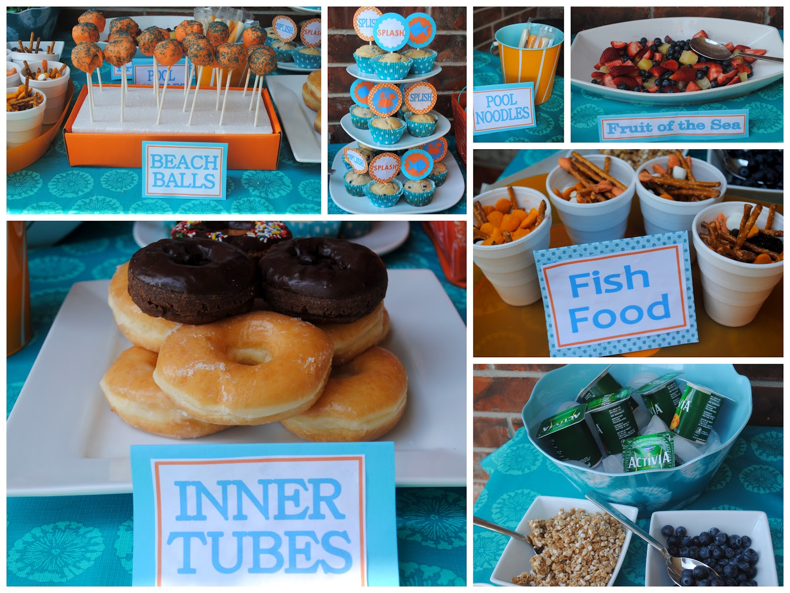 Preppy mom how to throw a sprinkler party for Pool and food