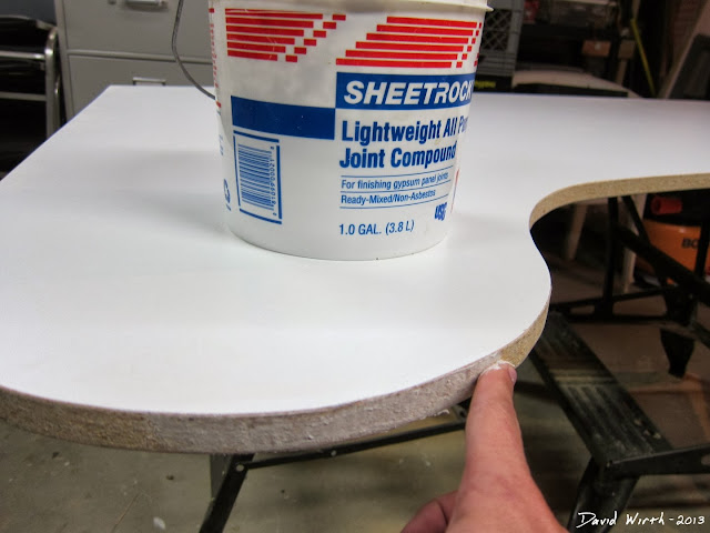 spackle for smooth wood, joint compound