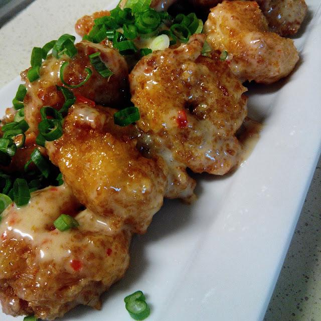 Mesha's Caribbean Bang Bang Shrimp