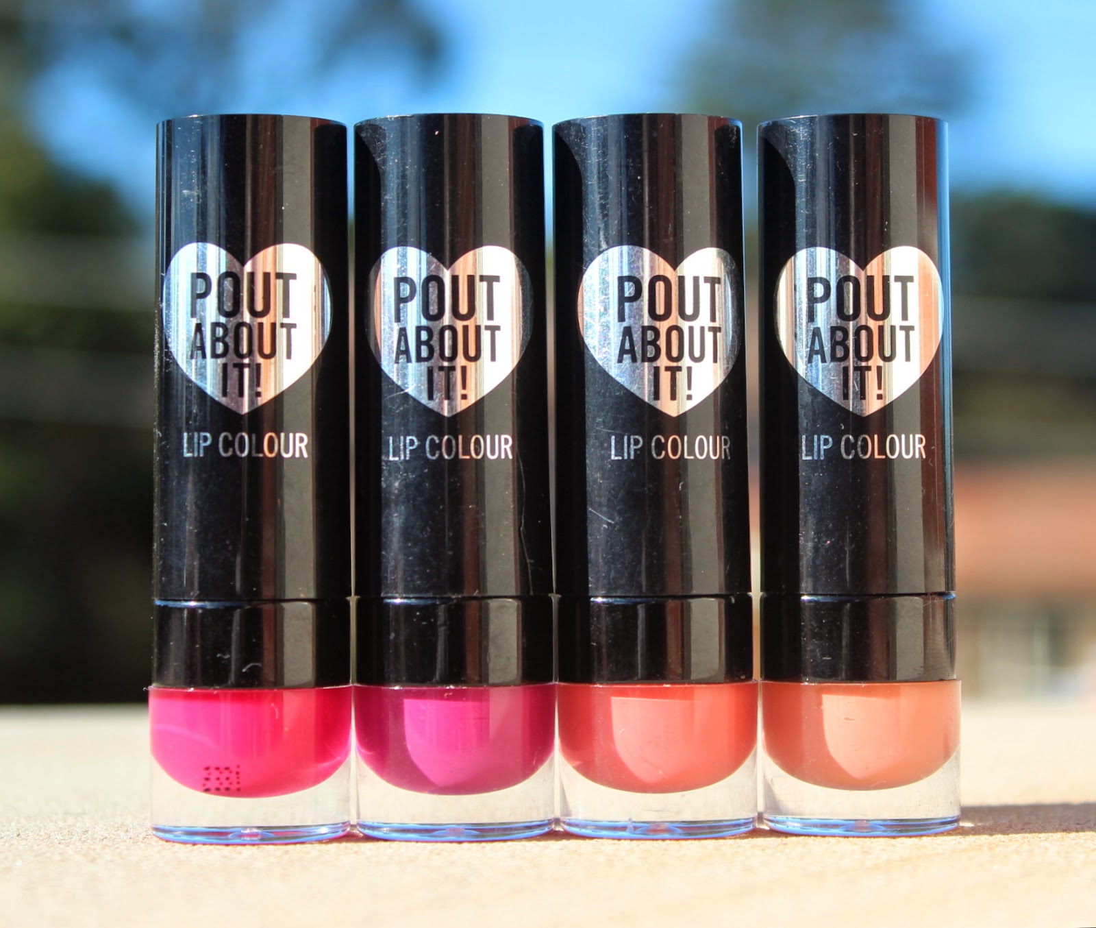 Sportsgirl Pout About It Lip Colours: Review & Swatches