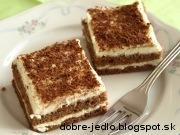 Dvojfarebný koláč - recept